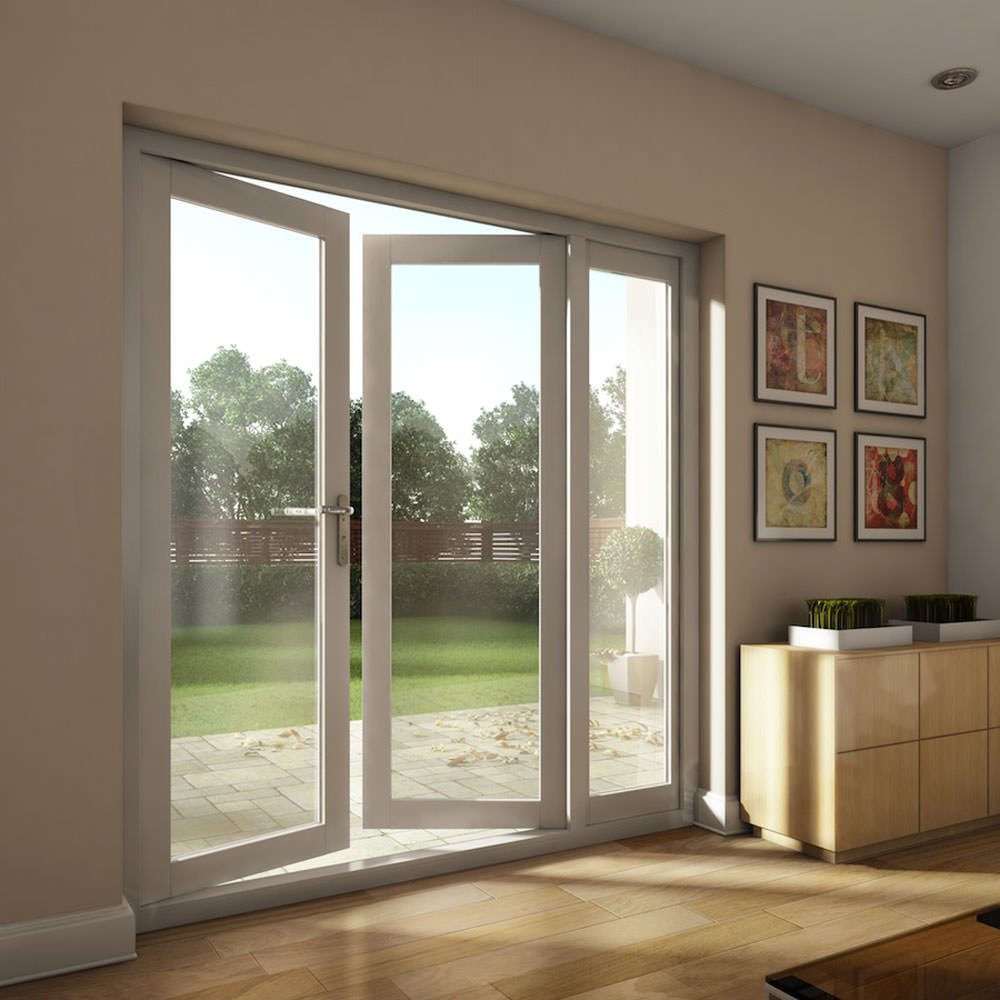 Upvc french doors in peterborough wfs anglia ltd cambridge for Small exterior french doors