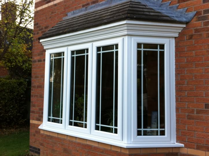 Upvc bow and bay windows peterborough bay window prices for Window frame designs house design
